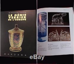 ART DÉCO RARE SCULPTURE EN CRISTAL ÉLÉPHANT par GEORGES CHEVALIER époque 1925's