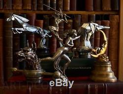 Art Deco Bronze Sculpture Car Mascot Collection 1920 1930