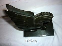Art Déco sculpture en bronze Pégase Georges-Henri Laurent