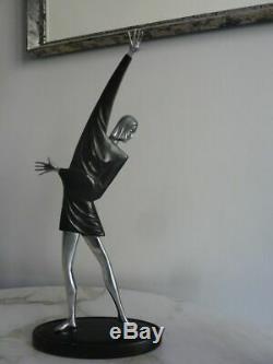 Belle statue sculpture Art Déco Russe TBE
