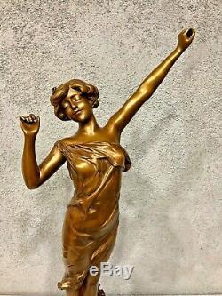 Bronze féminin L'éveil Paul Philippe