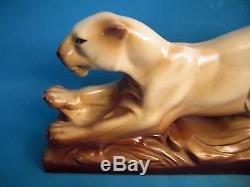 Ceramique Animaliere En Ceramique De Sainte Radegonde Art Deco