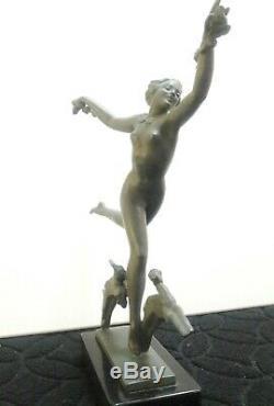 Fayral, Le Faguays, sculpture art déco 1930