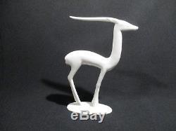 Gazelle Art Deco Faience Villeroy Et Boch Luxembourg Design Hermanutz Sculpture