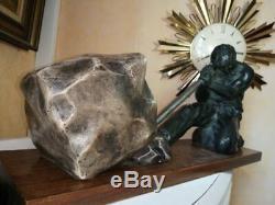 Importante sculpture art déco plâtre Ugo CIPRIANI dit URIANO