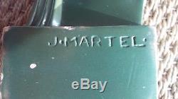Jan Joël Martel sculpture oiseaux des îles Lakarmé signé art déco