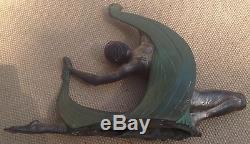 Jean Lormier Rare Sculpture Bronze Art Deco 1920/30 Danseuse Superbe +++