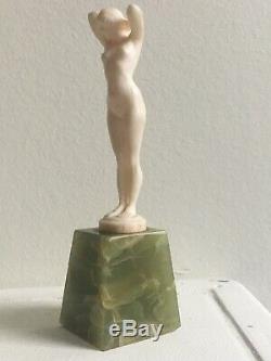 Joe DESCOMPS CORMIER (1869 1950). Sculpture Nu Feminin Art Déco