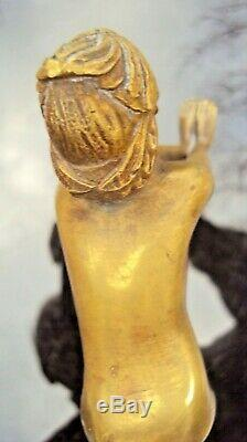 Joli bronze art déco la danse de Serge ZELIKSON (1890-1966)