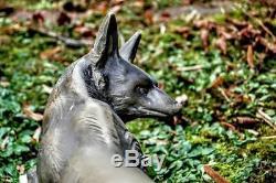 Marcel Briand (Pseudo Marcel Bouraine) Sculpture Art Déco animalière renard