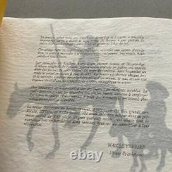 Rare Catalogues Des uvre De MAX LE VERRIER SCULPTURE FONTE DART ART DECO