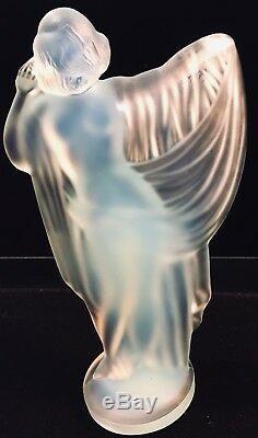 SABINO TANAGRA Sculpture. La Femme Aux Voiles. Art Déco 1920