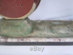 Sculpture mouette vague style Rochard vers 1930