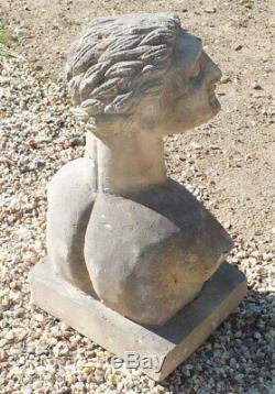 Sculpture pierre 1930 art déco (n°3)