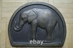 Simone Boutarel elephant bronze sculpture Art déco